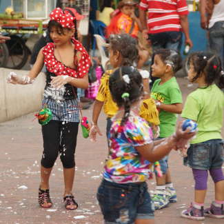 Kinder in Santa Marta