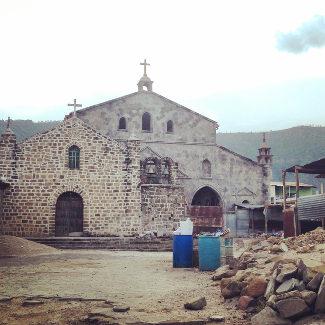 Kirche in San Juan – alt und neu