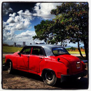 Kuba: Auto Nummer 19, Mietwagen Kuba