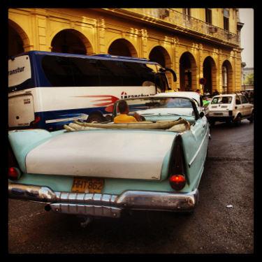 Kuba: Auto Nummer 16, Mietwagen Kuba
