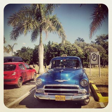 Kuba: Auto Nummer 12, Mietwagen Kuba