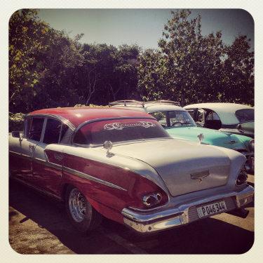 Kuba: Auto Nummer 13, Mietwagen Kuba