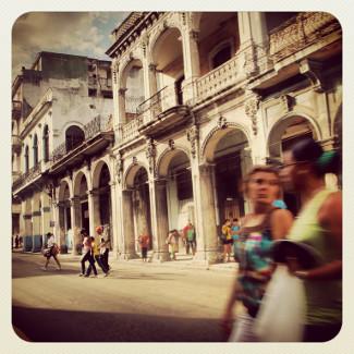 Unterwegs in Havannas Straßen