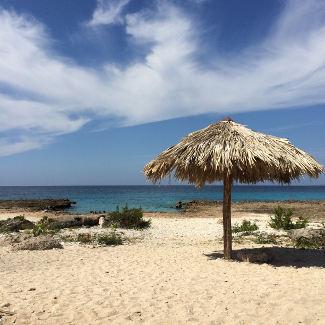 Strandbucht zwischen La Boca und Ancon