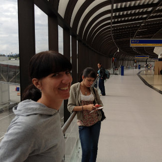 Am Medelliner Flughafen