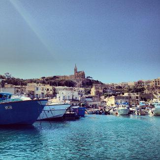 Hafen von Mgarr