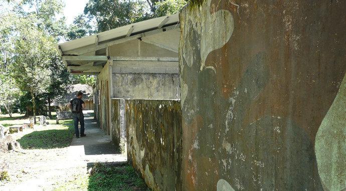 Das ehemalige Noriega-Camp WEKSO