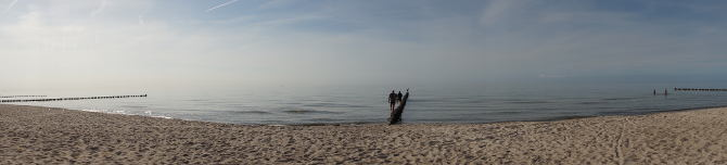 Ostsee auf dem Darß
