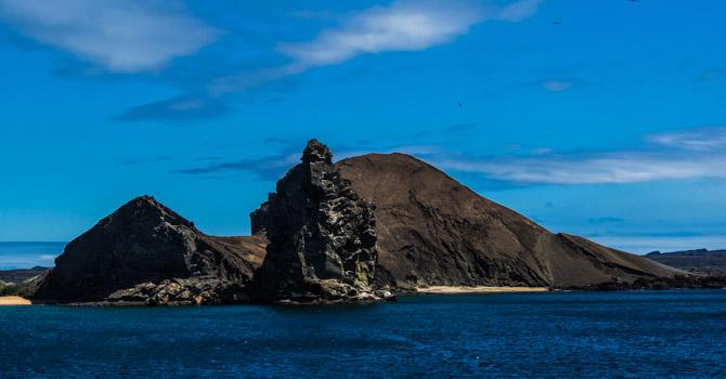 Ankunft auf der Insel Bartolomé