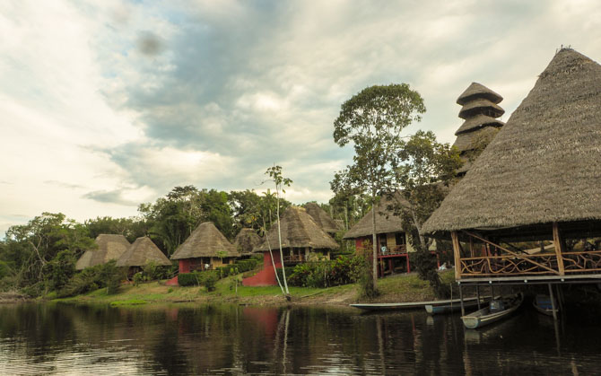 Napo Wildlife Center Lodge