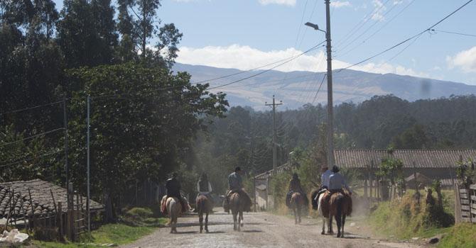 Unterwegs zum Pasochoa