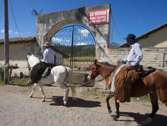 Auf dem Weg zum Pasochoa