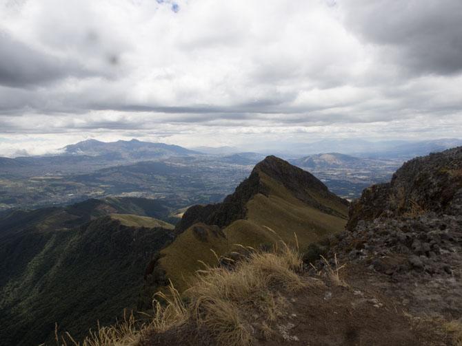 Aufstieg auf den Pasochoa