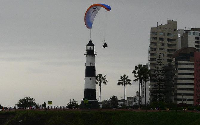 Paraglider – hier vertrat man wenigstens auf sich selbst