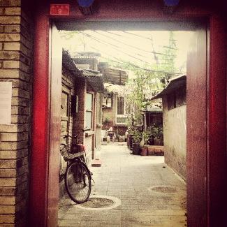 Blick in einen Pekinger Hof