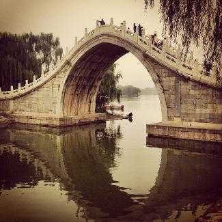 Brücke beim Sommerpalast