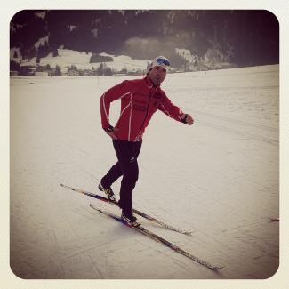 Skistunde mit Peter Schlickenrieder