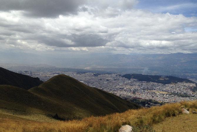 Quito vom Pichincha
