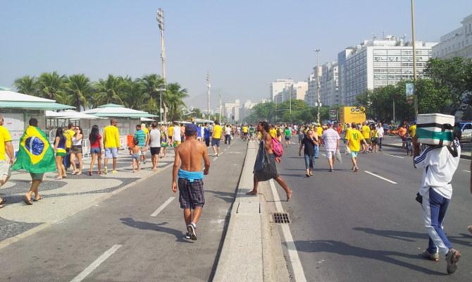 Fanfest in Rio de Janeiro