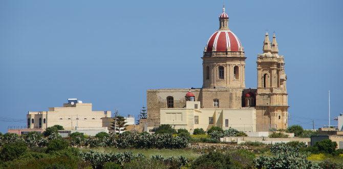 Typisch maltesische Kirche