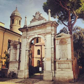 San Vitale Eingangstor