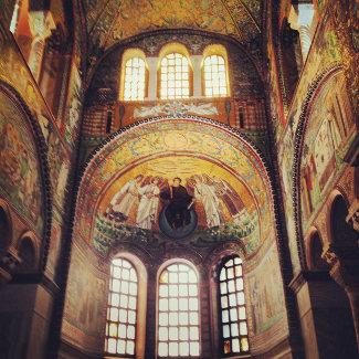 San Vitale von Innen