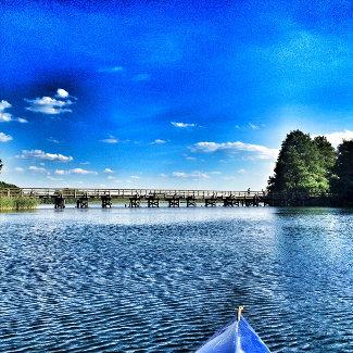 Brücke über dem Pagelsee