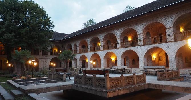 Karawanserei in Sheki