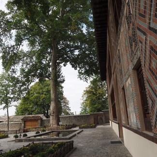 Im Hof des Khan-Palastes