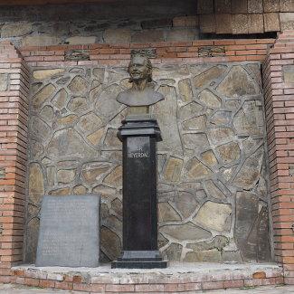 Thor Heyerdahl Denkmal in Kish