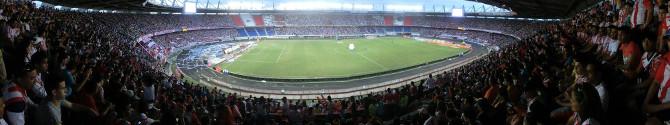Das größte Stadion Kolumbiens