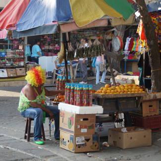 Karnevalstand Santa Marta