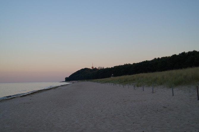Strandabschnitt Thiessow