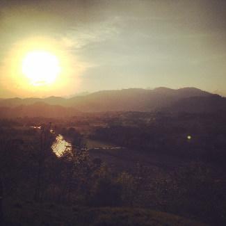 Sunset von der Hacienda San Lucas