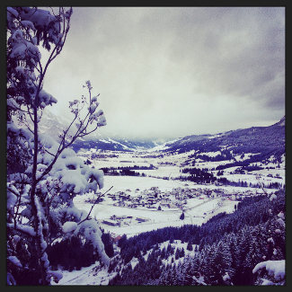 Blick auf das Tannheimer Tal