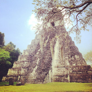 Tikal, Tempel 1