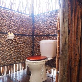 Open Air Toilette