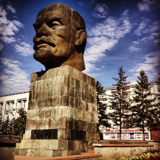 Der größte Leninkopf in ganz Russland