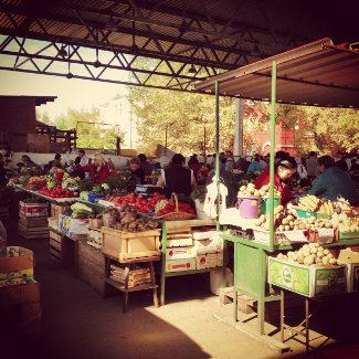 Markt in Ulan Ude