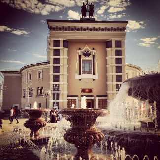Opernplatz in Ulan Ude