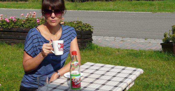 Auf Werra-Radtour – auch nach der Wende gibt es hier noch die Vita Cola