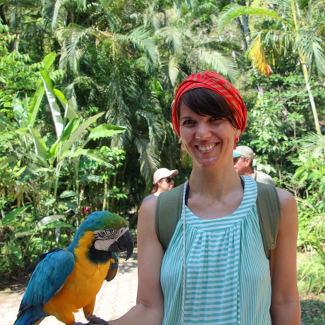 Mit meinem neuen Freund, Copan Honduras