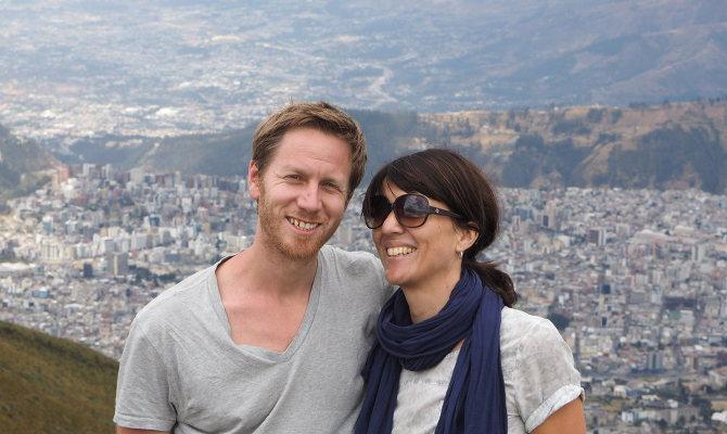 Wir auf dem Vulkan Pichincha, Ecuador Reisetipps