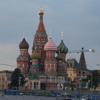 Basilius Kathedrale vom Schiff