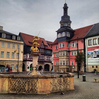 Marktplatz von Eisenach