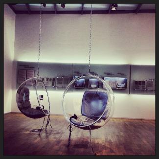 Bubble Chair im Bachhaus