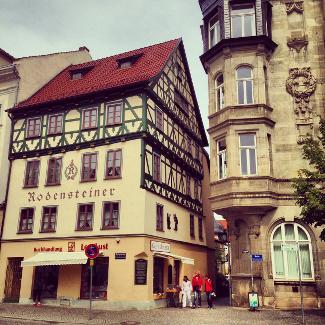Fachwerkhäuser in Eisenach