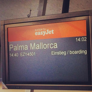 Flug nach Mallorca