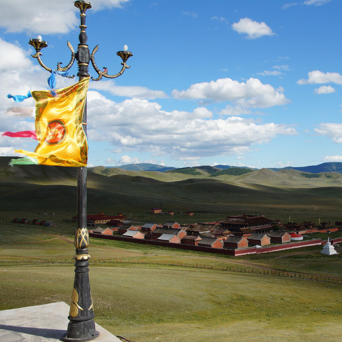 Kloster Amarbayasgalant in der Mongolei
