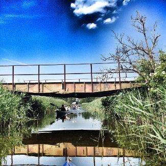 Brücke hinter Babke